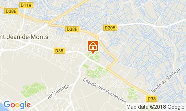 Mapa Saint Jean de Monts Mobil Home 112953
