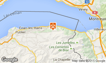 Mapa Thollon Les Mémises Apartamentos 39863