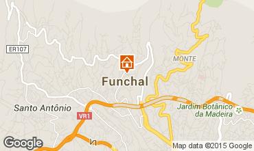 Mapa Funchal Bungalow 57060