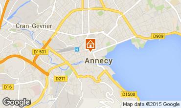 Mapa Annecy Apartamentos 30857