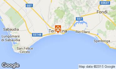 Mapa Terracina Apartamentos 40247