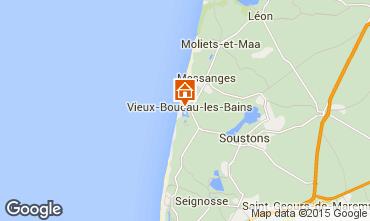 Mapa Vieux Boucau Apartamentos 10066