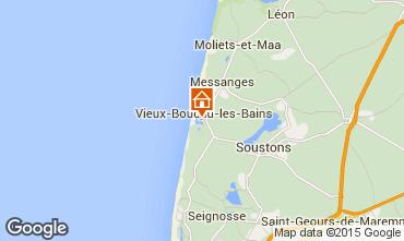 Mapa Vieux Boucau Apartamentos 79430
