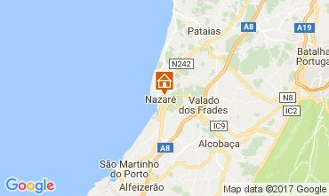 Mapa Nazaré Apartamentos 112557