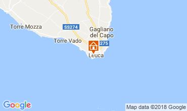 Mapa Santa Maria di Leuca Apartamentos 114748