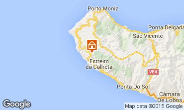 Mapa Calheta Casa de turismo rural/Casa de campo 48423