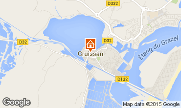 Mapa Gruissan Apartamentos 6306