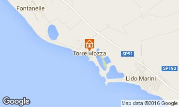 Mapa Torre Mozza Apartamentos 102810