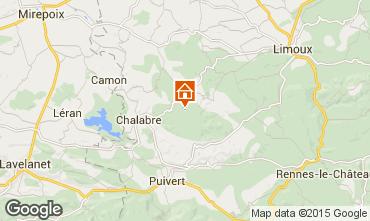 Mapa Carcassonne Casa de turismo rural/Casa de campo 75934