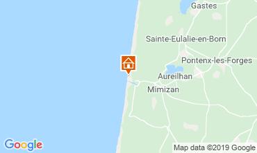 Mapa Mimizan Apartamentos 104352