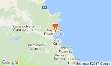 Mapa Primorsko Apartamentos 112650