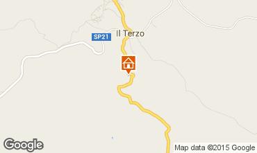 Mapa Roccastrada Vivenda 55549