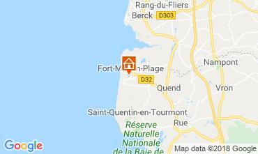 Mapa Fort Mahon Apartamentos 95691