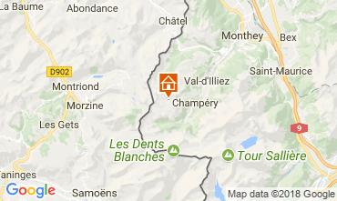 Mapa Les Crosets Apartamentos 33579