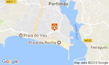Mapa Praia da Rocha Apartamentos 113105