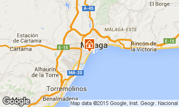 Mapa Málaga Apartamentos 64495
