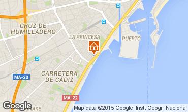 Mapa M�laga Apartamentos 64495