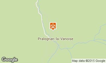 Mapa Pralognan la Vanoise Apartamentos 91916