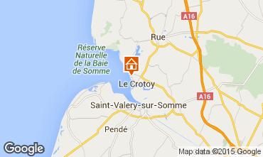 Mapa Le Crotoy Apartamentos 31199