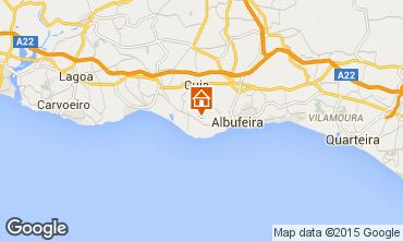 Mapa Albufeira Apartamentos 70603