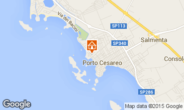 Mapa Porto Cesareo Apartamentos 70791