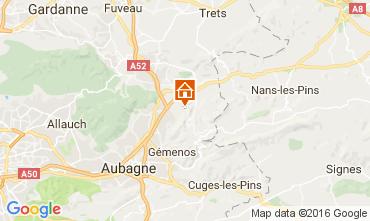Mapa Auriol Casa de turismo rural/Casa de campo 88967