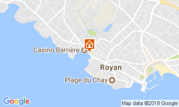 Mapa Royan Apartamentos 93351