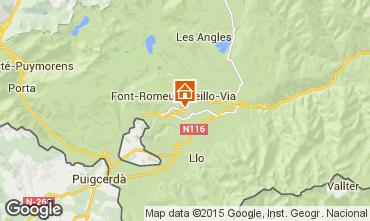 Mapa Font Romeu Apartamentos 4175