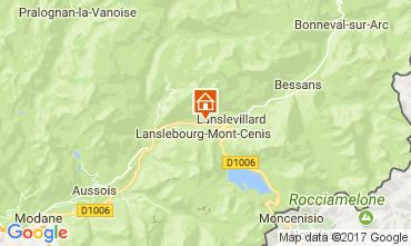 Mapa Val Cenis Apartamentos 92268