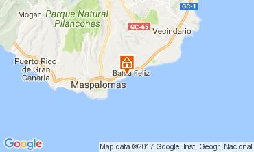 Mapa Maspalomas Apartamentos 111198