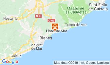 Mapa Lloret de Mar Apartamentos 57226