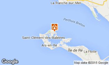 Mapa Les Portes-en-Ré Casa 5037