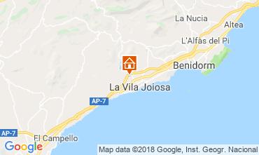 Mapa Benidorm Vivenda 97736