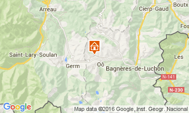 Mapa Luchon Superbagneres Chal� 38731