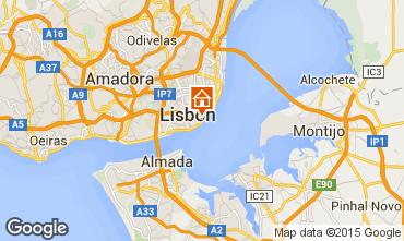 Mapa Lisboa Est�dio 55576