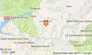 Mapa Les Orres Apartamentos 111707