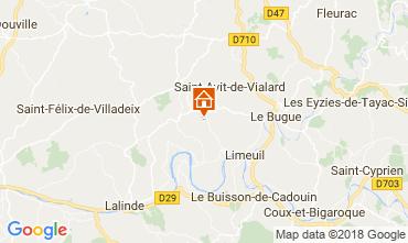 Mapa Sarlat Casa 114581