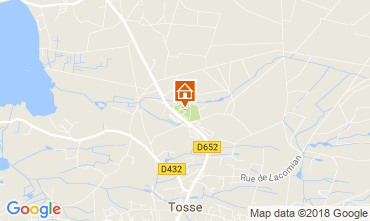 Mapa Capbreton Mobil Home 115476