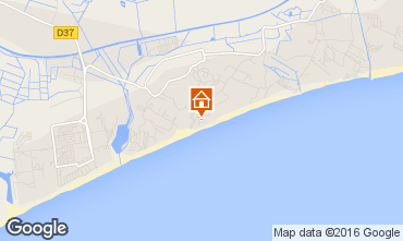 Mapa Vias Praia Mobil Home 102772