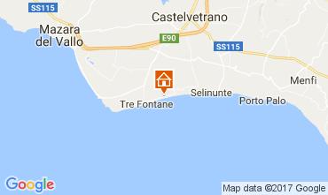 Mapa Tre Fontane Apartamentos 107968