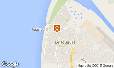 Mapa Le Touquet Apartamentos 21640