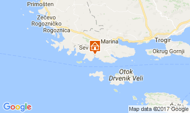 Mapa Trogir Casa 112576