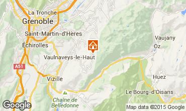 Mapa Chamrousse Apartamentos 30013