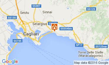Mapa Cagliari Apartamentos 103717