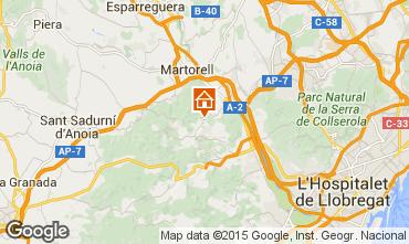 Mapa Barcelona Vivenda 85228