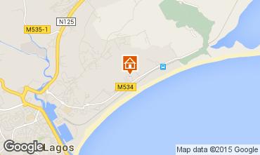 Mapa Lagos Apartamentos 71812