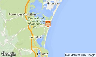 Mapa Port La Nouvelle Apartamentos 10511