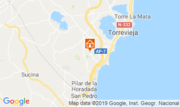 Mapa Torrevieja Casa 104261