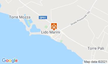 Mapa Lido Marini Casa 85090