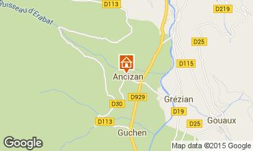 Mapa Saint Lary Soulan Casa 100745